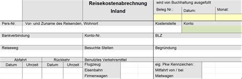Muster Formular Reisekostenabrechnung Reisekostenabrechnung Per Formular Mit Ausf 252 Llhilfe