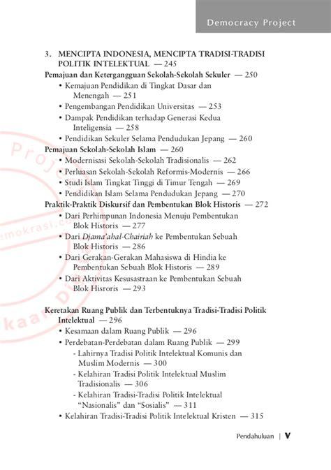 Ruang Publik Identitas Dan Memori Kolektif Jakarta Pasca Soeharto 1 inteligensia muslim dan kuasa