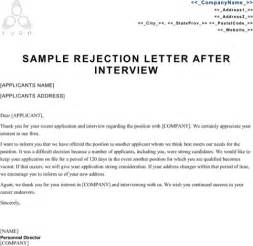 Rejection Letter Closing Rejection Letter Sle For Excel Pdf And Word