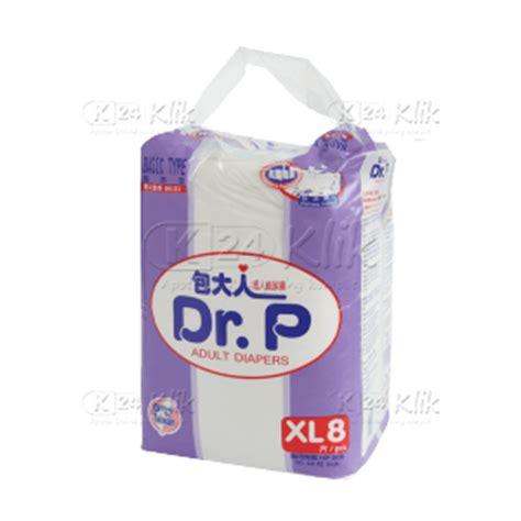 Dr P Diapers Xl8 Basic Porismarkt jual beli mamy poko std l 8 k24klik