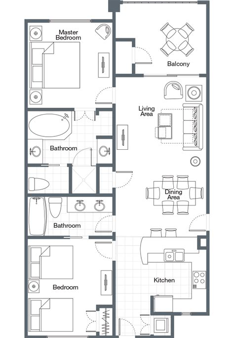 sheraton vistana villages floor plan sheraton vistana villages three bedroom lockoff villa amelia