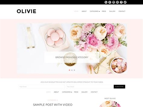themes for tumblr fashion blogs 30 best fashion blog magazine wordpress themes 2018