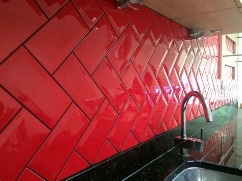 Tile Backsplash Ideas For Kitchen by Metro Tiles Design Ideas
