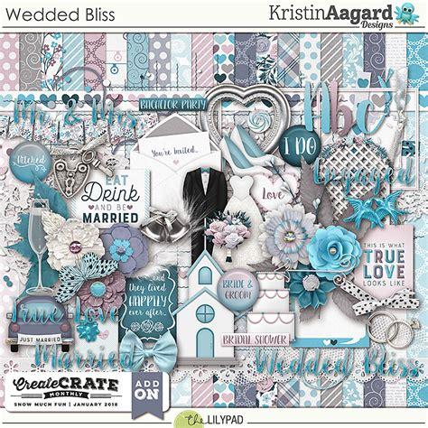 Tuesday Fashion Bits Bag Bliss 5 by Digital Scrapbook Kit Wedded Bliss Kristin Aagard