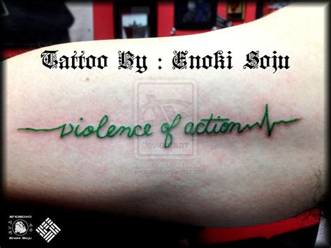 heartbeat with quote tattoo heartbeat quote tattoo by enoki soju by enokisoju on