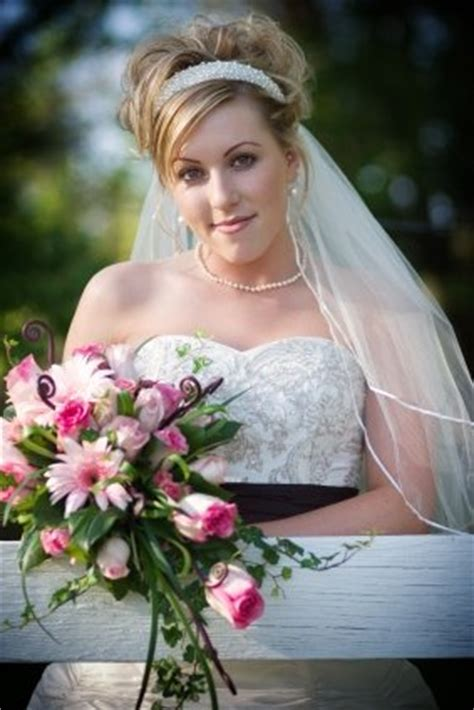 bridal updo  short  medium length hair