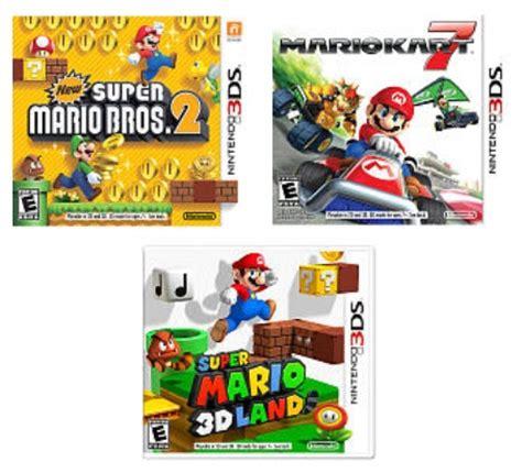 3ds Mario Reg 3 toys r us nintendo 3ds mario only 19 99 each reg