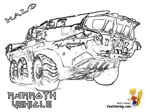 Halo 4 Coloring Pages by Halo 4 Colouring Pages