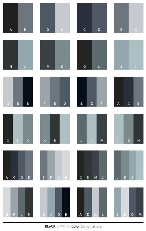 grey colour combination best 25 black color palette ideas on pinterest grey