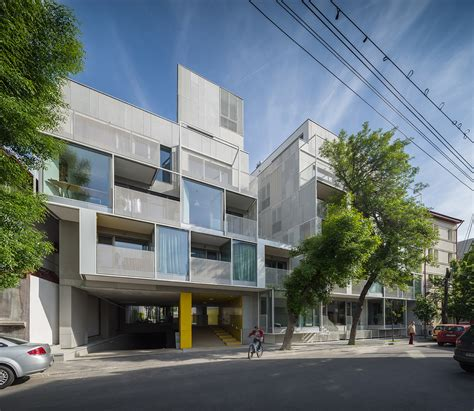 Apartment Design Archdaily   dogarilor apartment building adn birou de arhitectura