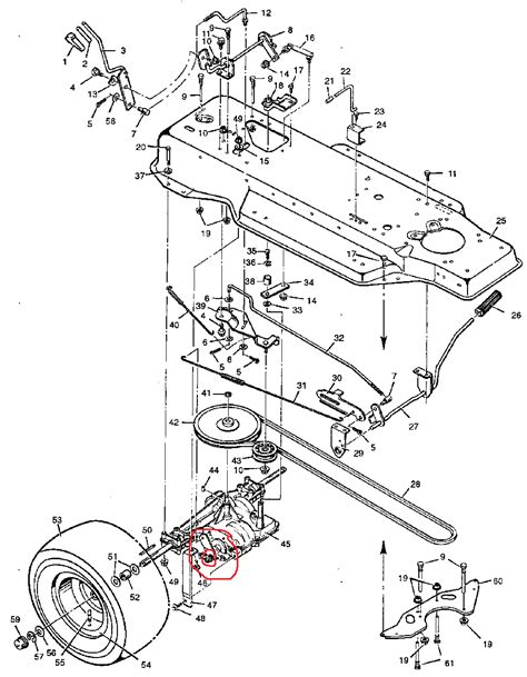 pin murray lawn mower parts diagrams on pinterest