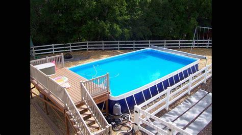 pool decks pool deck designs above ground pool deck designs