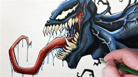 Drawing Venom by Let S Draw Venom Your Friendly Neighborhood Symbiote