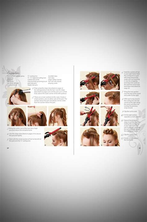 Rennells Vintage Hairstyles Book by Rennells Vintage Hairstyling Hairstyles