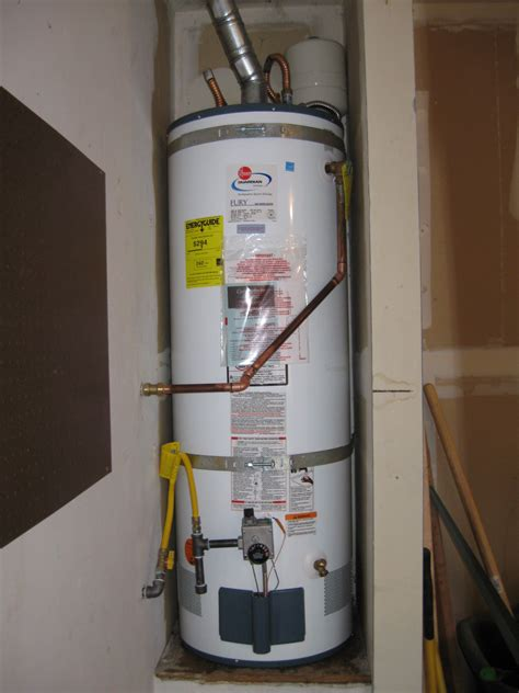 New Water Heater New Water Heater For Lincoln Home Owner Ronald T Curtis