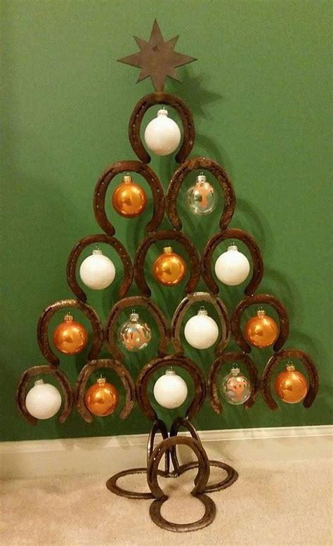 1000 ideas about horseshoe christmas tree on pinterest