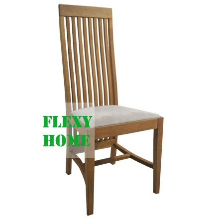 High Back Wood Dining Chairs High Back Dining Chairs Chair Pads Cushions