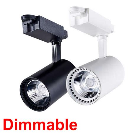 Lu Sorot Spot Track Rail Led 30w spot led track light dimmable 12w 15w 20w 30w 3000k 4000k