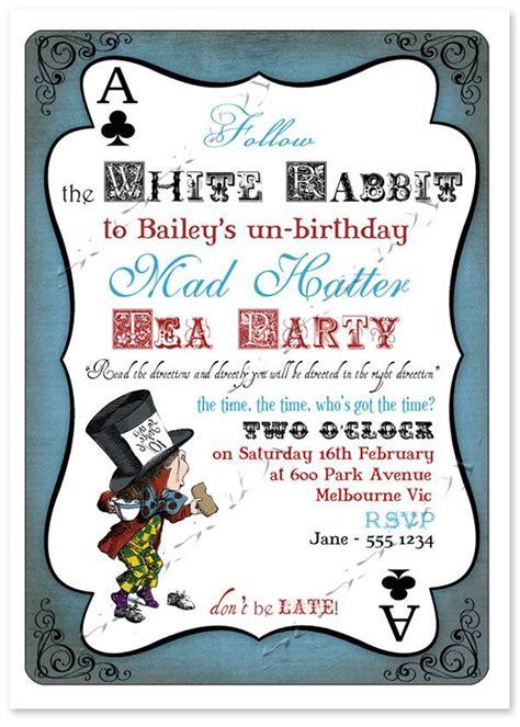 tea party invitations tea party invitations with a extraordinary