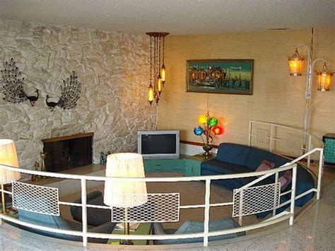 Sunken Living Room Railing by 50 Cool Sunken Living Room Designs Ultimate Home Ideas