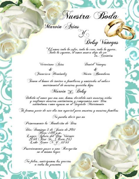 pensamientos para invitaciones de boda bellos textos