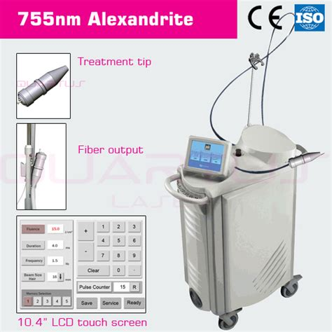 755nm hair removal alexandrite laser quanta system buy