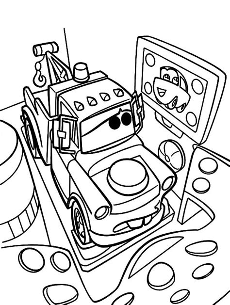 mater coloring pages free coloring pages of tow mater