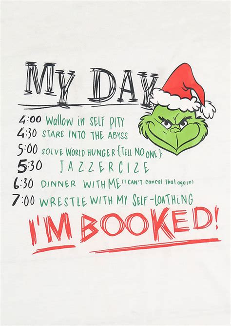 Booked A M A grinch i m booked baseball t shirt fairyseason
