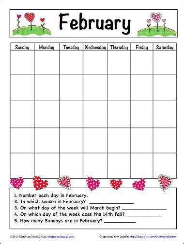 printable calendar kindergarten in the classroom calendar printable and kindergarten on