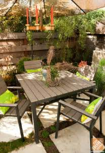 Patio Sets For Small Decks by Small Patio Decorating Ideas By Courtney Of Courtney Out Loud