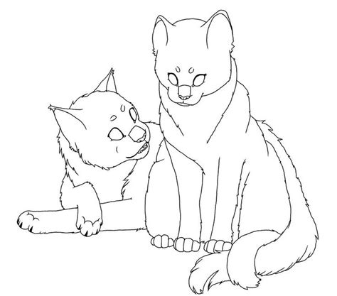 two cats coloring page 25 best images about warrior coloring pages on pinterest