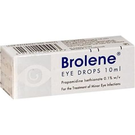 eye infection drops brolene 10ml minor bacterial eye infections drops conjunctivitis blephritis uk ebay
