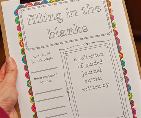 cute printable journal pages 50 free printable guided journal pages journaling