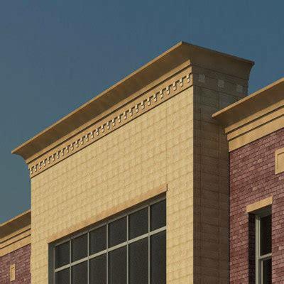 cornice building building rfa dentil parapet cornice