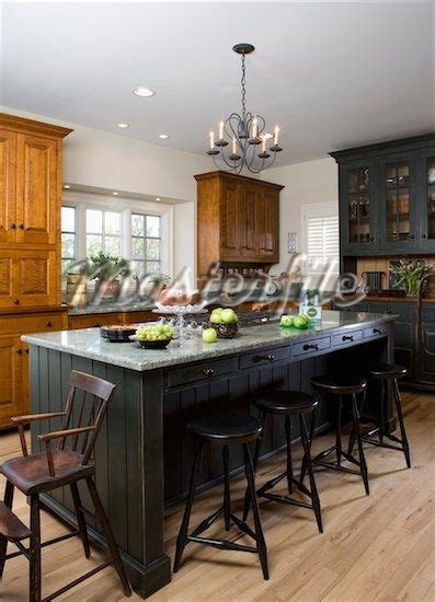 kitchen island with stools and images bar golfocd com 17 best images about primitive kitchens on pinterest