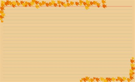 fall recipe cards templates recipe card design previews for recipe manager with
