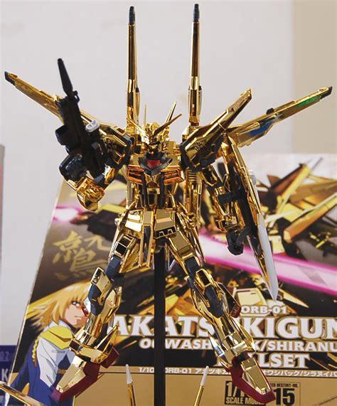 Hgseed Owaashi Akatsuki Gundam akatsuki gundam 1 100 gundam model kits images list