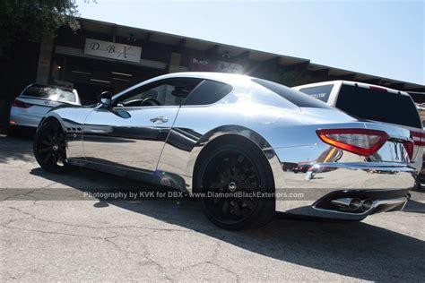 Maserati Granturismo Wrapped In Chrome Photo Gallery
