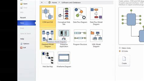 cara membuat erd rekam medis er diagram using ms visio 10 part 1 youtube