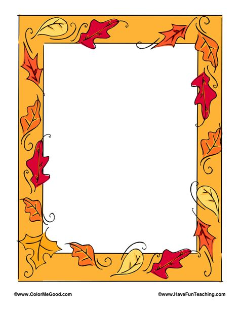 lined paper with turkey border thanksgiving writing paper with borders