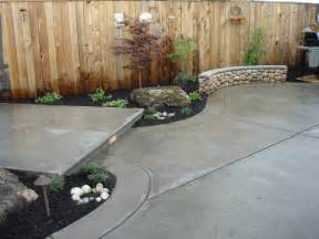 Smooth Concrete Patio by Stained Concrete Patios Best Patio Materials