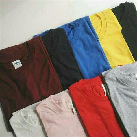 Kaos Polos Putih Gildan Softstyle kaos baju polos gildan softstyle 63000 original murah