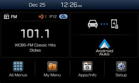 Speaker Multimedia Apple E103 hyundai display audio nuevo sistema multimedia compatible con apple carplay y android auto