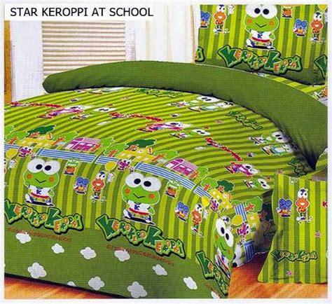 Sprei Keropi by Detail Produk Sprei Dan Bedcover Keropi At School Toko