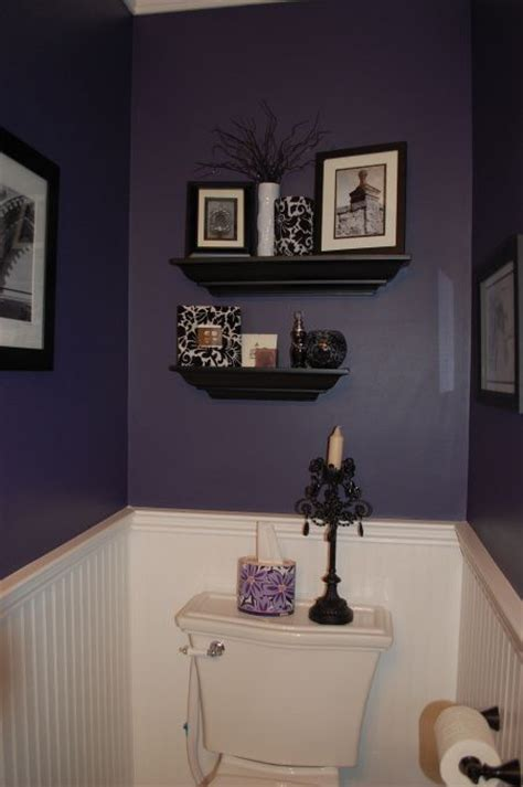 lavender and black bathroom eggplant bathroom bathroom designs decorating ideas