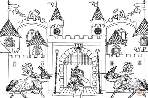 coloring pages of king arthur king arthur castle coloring page free printable coloring