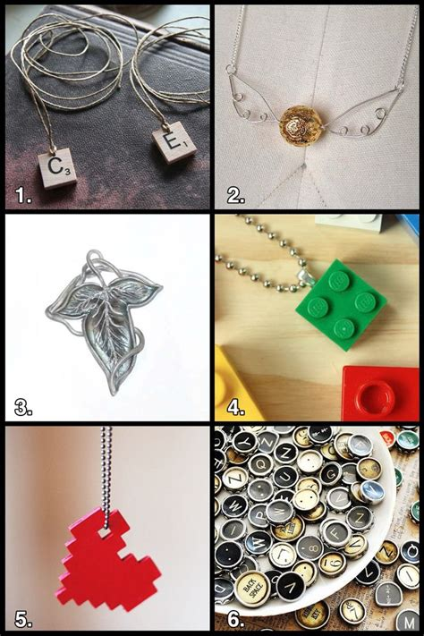 lego necklace tutorial geek jewelry from harry potter to lego and lotr things