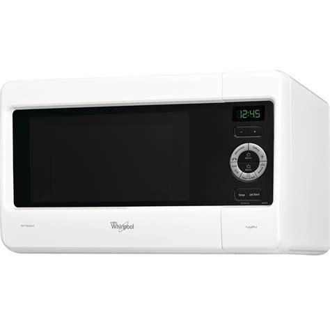 cucinare con il microonde whirlpool microonde whirlpool a libera installazione colore bianco