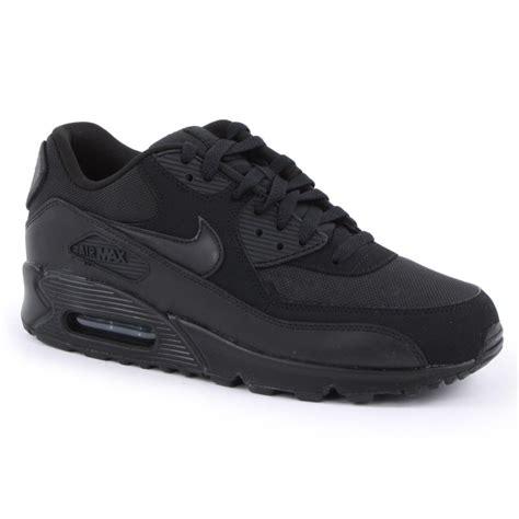 Nike Airmax 90 Black nike nike air max 90 essential black black c6 537384