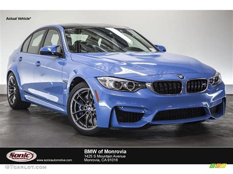 bmw blue colors 2016 yas marina blue metallic bmw m3 sedan 112582955